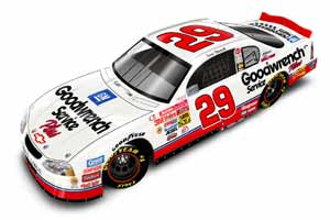 Action 2001 Kevin Harvick GM Goodwrench Service Plus diecast