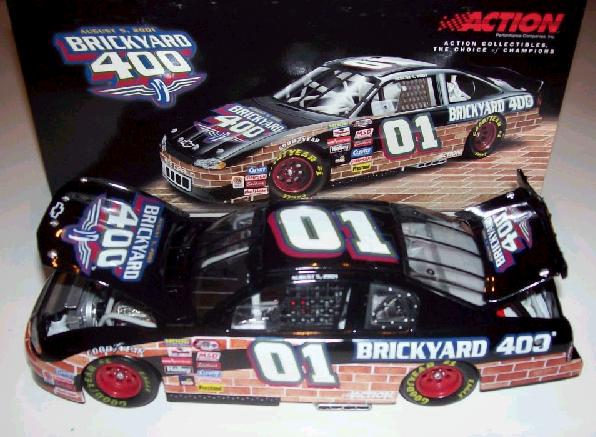 Action 2001 Brickyard 400 Event Car diecast
