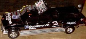 Action 1996 Dale Earnhardt Goodwrench Dually B/W Bank diecast