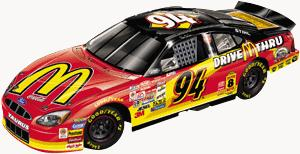Action 2000 Bill Elliott McDonalds diecast