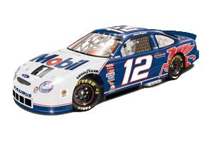 Team Caliber 1999 Jeremy Mayfield Mobil 1 Racing (Blue) diecast