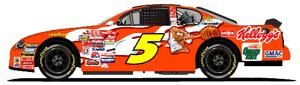 Team Caliber 2001 Terry Labonte Honey Frosted Mini Wheats diecast