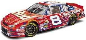 Action 1/64 2000 Dale Earnhardt Jr. Budweiser Olympic Team Total Concept