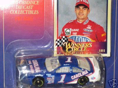 Winners Circle 1991 Jeff Gordon Carolina Ford Dealers diecast