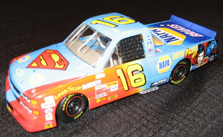 Action 1999 Ron Hornaday NAPA Superman Supertruck diecast