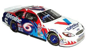 Team Caliber 2000 Mark Martin Valvoline H/O (Owners in display case) diecast