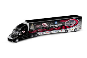 Action 2002 Dale Earnhardt Tribute Hauler (with fan signatures) diecast