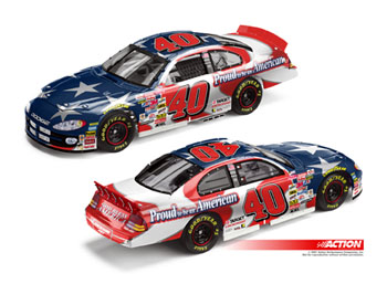 Action 2001 Sterling Marlin God Bless America American Pride diecast