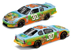 Action 2002 Jeff Green AOL / Scooby Doo Monte Carlo diecast