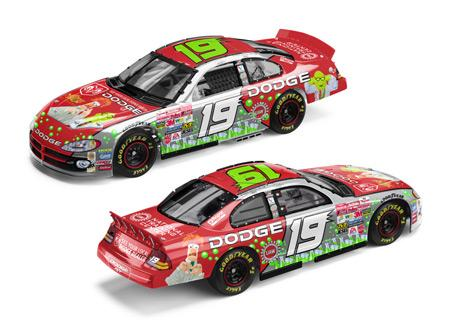 Action 2002 Jeremy Mayfield Muppets Beaker Honeydew Dodge Intrepid 25th Anniversary diecast