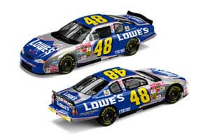 Team Caliber 2002 Jimmie Johnson Lowes Monte Carlo (Owners Series) diecast