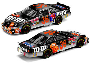 Team Caliber 2002 Ken Schrader M&Ms Halloween (Owners Series) diecast