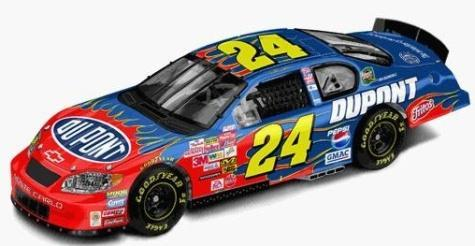 Action 2003 Jeff Gordon Dupont Monte Carlo diecast