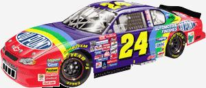 Action 2000 Jeff Gordon Dupont diecast