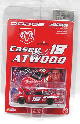 Action 2001 Casey Atwood Dodge diecast