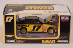 Team Caliber 2000 Matt Kenseth Dewalt Taurus (Owners in display case) diecast