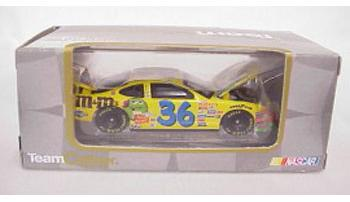 Team Caliber 2002 Ken Schrader M&Ms (Owners in display case) diecast