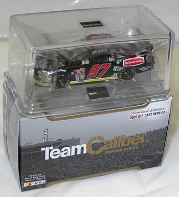 Team Caliber 2002 Kurt Busch Sharpie Million Dollars (Owners in display case) diecast