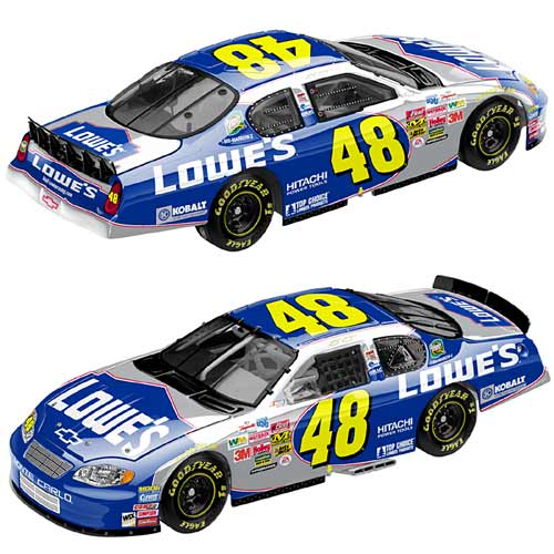Action 2004 Jimmie Johnson Lowes Monte Carlo diecast