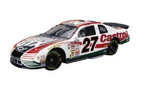 Action 1999 Casey Atwood Castrol GTX Last Lap of the Century B/W Bank diecast