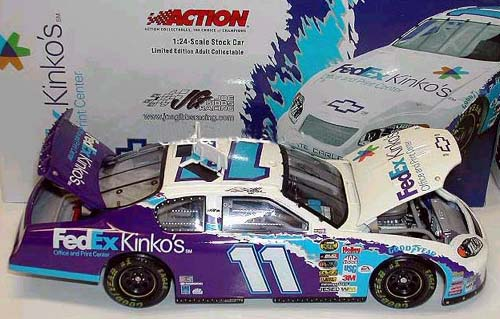 Action 2005 Jason Leffler Fedex Kinkos Chevy Monte Carlo (Club Car #21 of 144) diecast