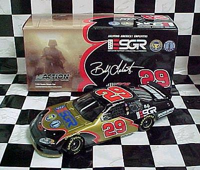 Action 2004 Bobby Labonte ESGR Army Reserves Chevy Monte Carlo diecast
