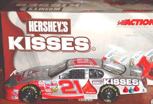 Action 2004 Kevin Harvick Special Edition Hersheys Kisses Chevy Monte Carlo diecast