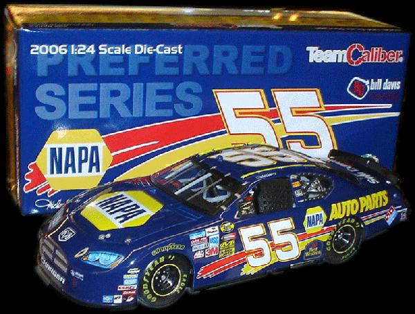 Team Caliber 2006 Michael Waltrip NAPA Dodge (Preferred Series) diecast