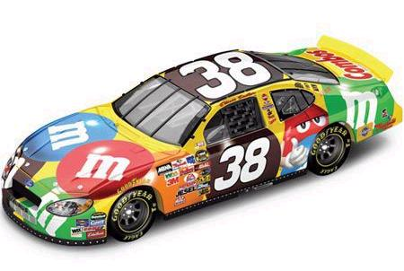 Action 2005 Elliott Sadler M&Ms Ford Taurus diecast