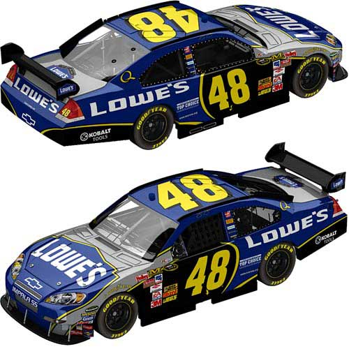 Action 2008 Jimmie Johnson Lowes Chevy Impala COT diecast