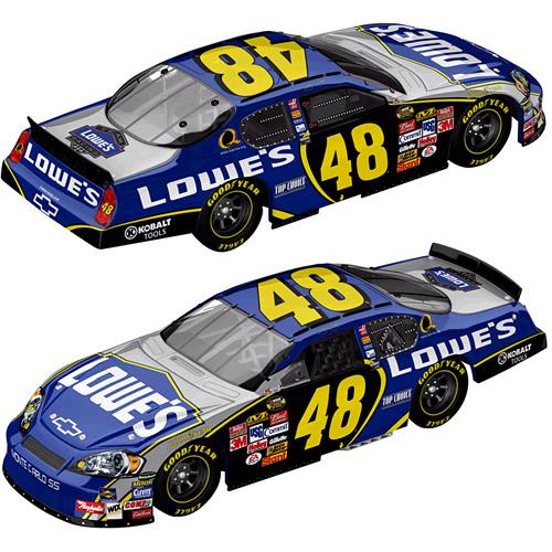 MotorSports Authentics 2007 Jimmie Johnson Lowes Chevy Monte Carlo H/O (Drivers Select series) diecast