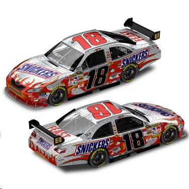 Action 2008 Kyle Busch Snickers Atlanta Raced Version Toyota Camry diecast