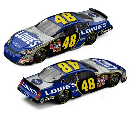 Action 2007 Jimmie Johnson Lowes Chevy Monte Carlo (Elite) diecast