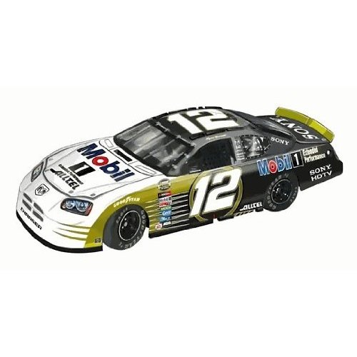 Team Caliber 2005 Ryan Newman Mobil 1 Gold Dodge Charger (Pit Stop Series) diecast