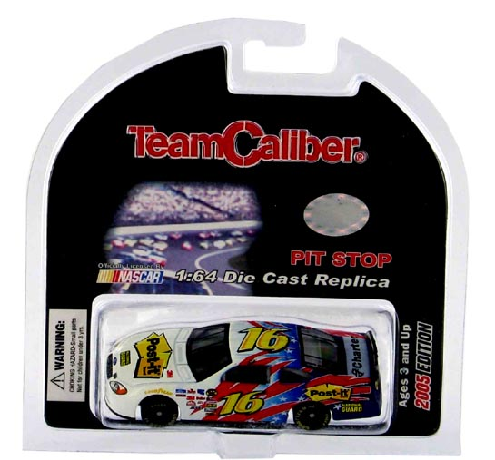 Team Caliber 2005 Greg Biffle Post It Ford Taurus (Pit Stop Series) diecast