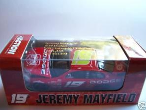 Action 2003 Jeremy Mayfield Dodge Intrepid (Club Car) H/O diecast