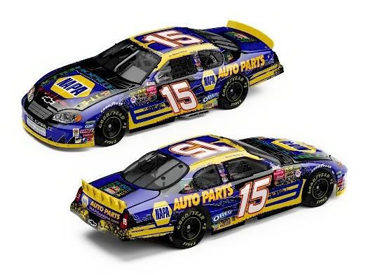 Action 2003 Michael Waltrip NAPA / Hootie and the Blowfish Chevy Monte Carlo (Elite) diecast