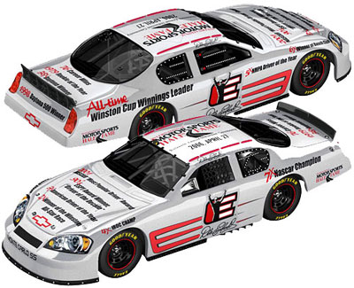 Action 2006 Dale Earnhardt Hall of Fame Chevy Monte Carlo diecast