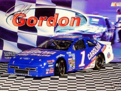 Action 1991 Jeff Gordon Carolina Ford Dealers diecast