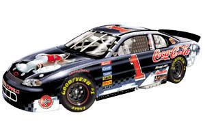 Action 1998 Dale Earnhardt Jr. Coca-Cola Polar Bear H/O diecast