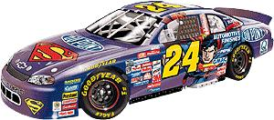 Action 1999 Jeff Gordon Dupont Superman diecast