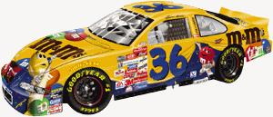 Action 1999 Ernie Irvan M&Ms Countdown to the Millennium diecast