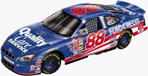 Action 2000 Dale Jarrett Quality Care diecast