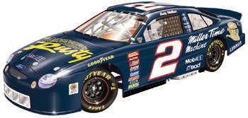 Revell 1998 Rusty Wallace Adventures of Rusty H/O diecast