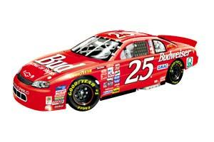 Team Caliber 1999 Wally Dallenbach Budweiser diecast